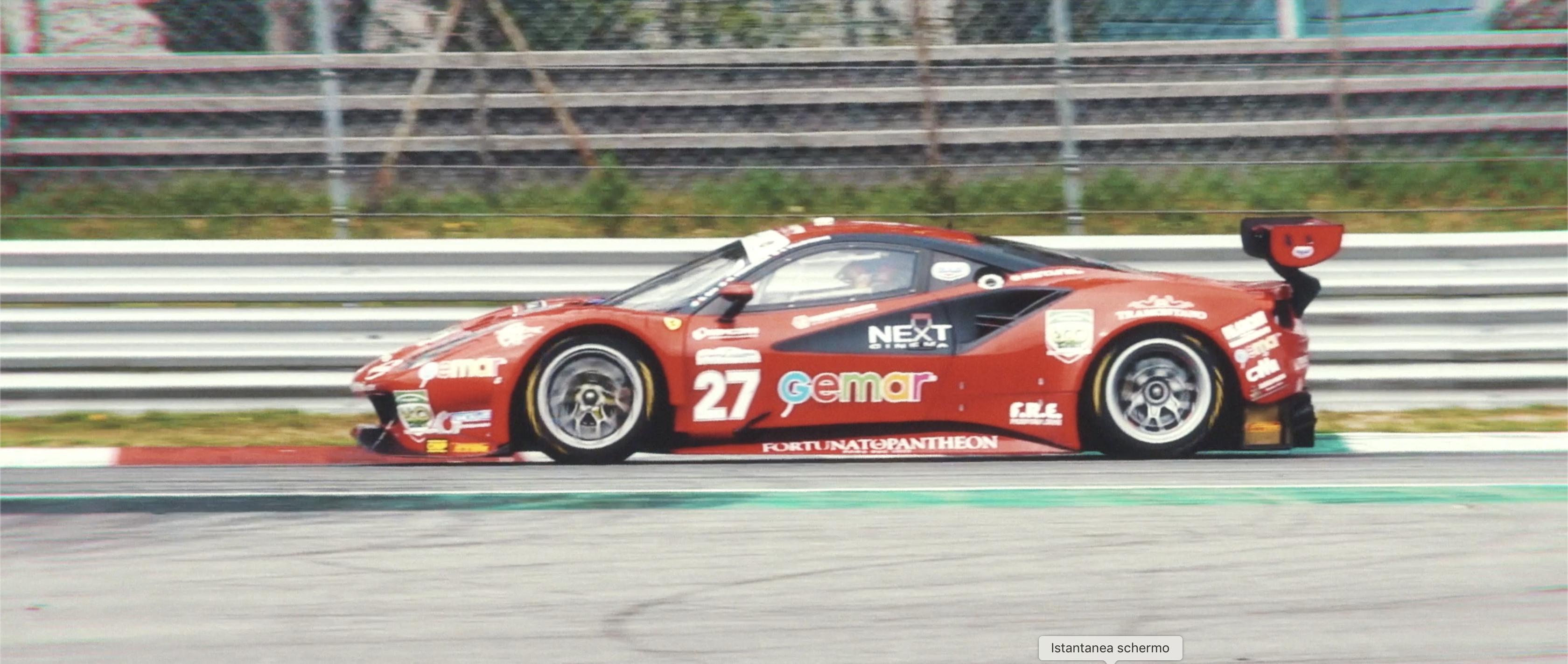 Ferrari 488 GT3 Campionato Italiano GT 2019